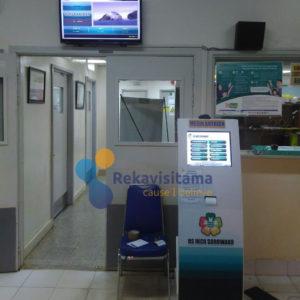 sistem antrian-mesin antrian rumah sakit-mesin antrian rsu inco sorowako