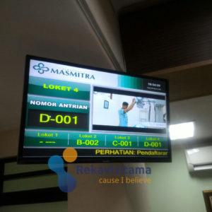 mesin antrian rumah sakit