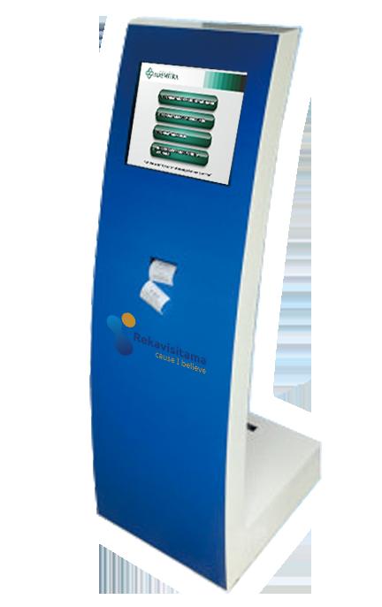 mesin antrian-sistem antrian-kiosk antrian
