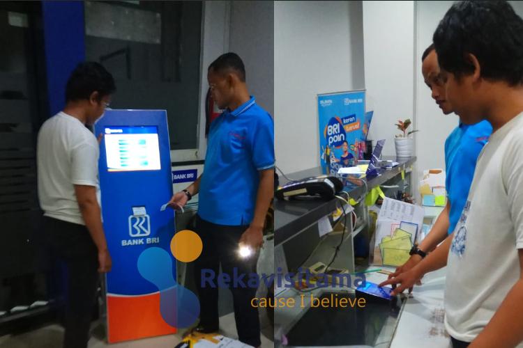 mesin antrian bank bri-sistem antrian