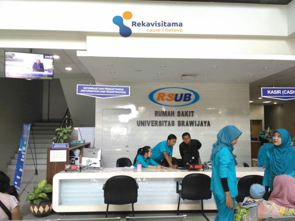 rumah sakit unversitas brawijaya malang-sistem antrian